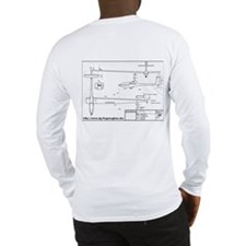 DG-600 Long Sleeve 3 View Shirt