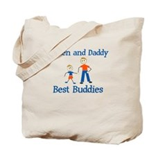 Best Buddies - Kaiden & Daddy Tote Bag