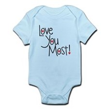 Love you most! Body Suit