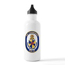 USS Vandergrift FFG-48 Water Bottle