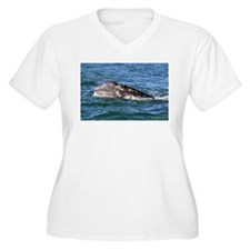Baby Gray Whale Plus Size T-Shirt