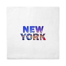 New York City 003 Queen Duvet