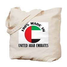 Made In United Arab Emirates Tote Bag