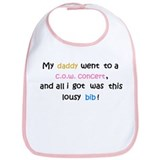 """Daddy...all I got..."" Bib (white)"