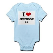 I Love Seabrook Tb Body Suit