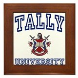 TALLY University Framed Tile