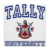 TALLY University Tile Coaster