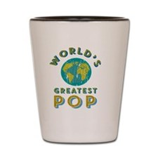 World's Greatest Pop Shot Glass