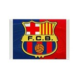 F.C. Barcelona Rectangle Magnet (10 pack)