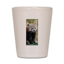 Red Panda 004 Shot Glass
