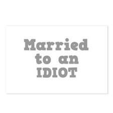 Married to an Idiot Postcards (Package of 8)