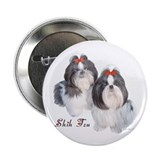 Shih Tzu Cameo Button (100 pk)