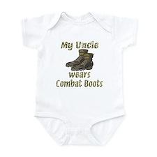 My Uncle Wears Combat Boots Infant Bodysuit