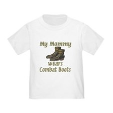 My Mommy Wears Combat Boots T