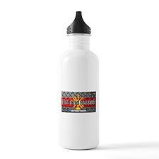 Firefighter Like Father Like Son Water Bottle