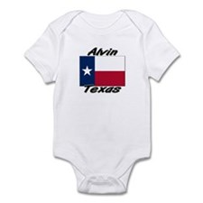 Alvin Texas Infant Bodysuit