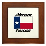 Abram Texas Framed Tile