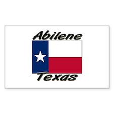 Abilene Texas Rectangle Decal