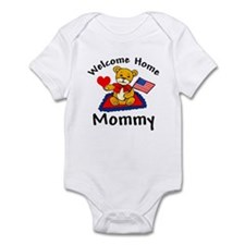 Welcome Home Mommy Army Infant Bodysuit