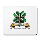 Cool Ireland shamrock Mousepad