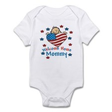 Welcome Home Mommy Army Baby Infant Bodysuit