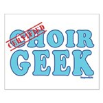 Choir Geek Small Poster