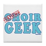 Choir Geek Tile Coaster