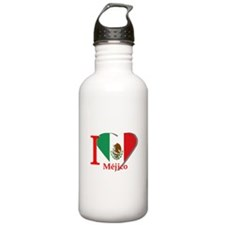 I love Mexico Water Bottle