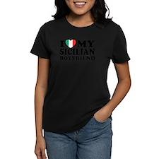 I Love My Sicilian Boyfriend Tee