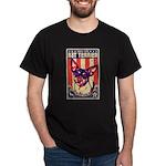 Obey the Rat Terrier! - USA Dark T-Shirt