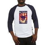 Obey the Rat Terrier! USA Baseball Jersey