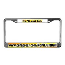 Yellow License Plate Frame