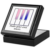 Make your own music Keepsake Box