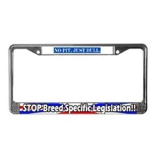 Stop BSL rwb License Plate Frame