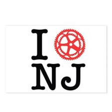 I Bike NJ Postcards (Package of 8)