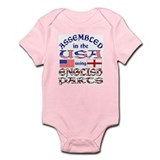 USA/English Parts Infant Creeper