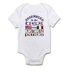 USA/Italian Parts Infant Creeper