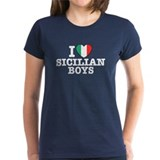 I Love Sicilian Boys  T