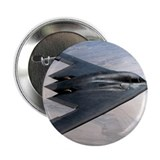 "B2 Stealth Bomber In Flight 2.25"" Button (100 pack"