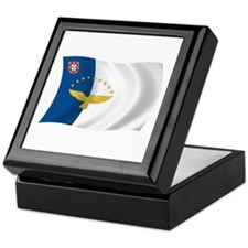 Azores Flag Keepsake Box