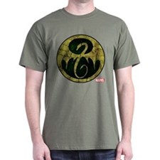 Iron Fist Icon Distressed T-Shirt