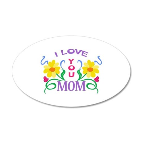 I LOVE YOU MOM Wall Decal