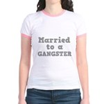 Married to a Gangster Jr. Ringer T-Shirt