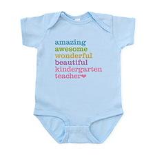 Kindergarten Teacher Body Suit