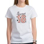 Sweet Sixteen 16th Birthday Women's T-Shirt