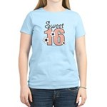 Sweet Sixteen 16th Birthday Yellow T-Shirt