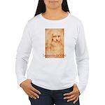 Leonardo da Vinci Women's Long Sleeve T-Shirt