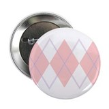 """Pink Argyle"" 2.25"" Button (10 pack)"