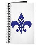 Masonic Fleur De Lis - Blue Journal