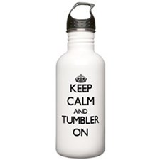 Keep Calm and Tumbler Water Bottle